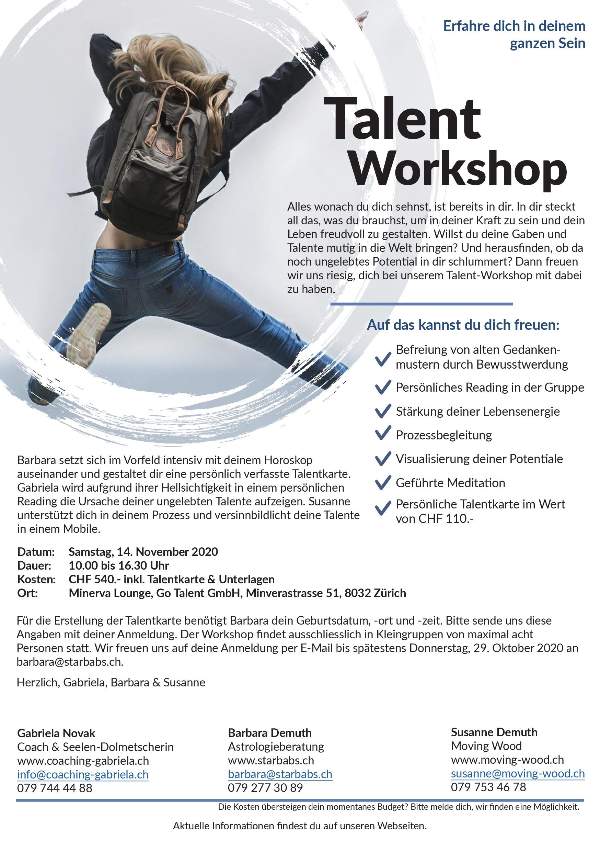 Flyer Talent-Workshop November_1